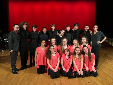 Area percussion classes combine to put on concert