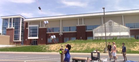 STEM balloon launch