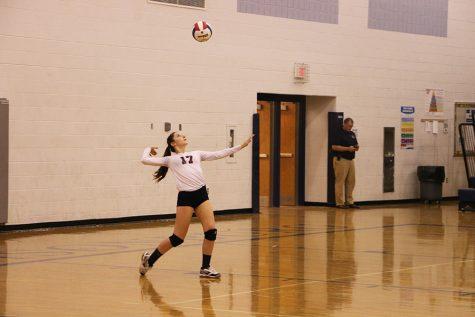 JV Volleyball game 10/6