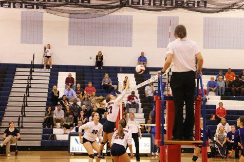 JV volleyball crushes losing streak