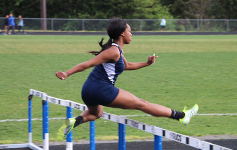 HHS competes in track meet at Spotswood