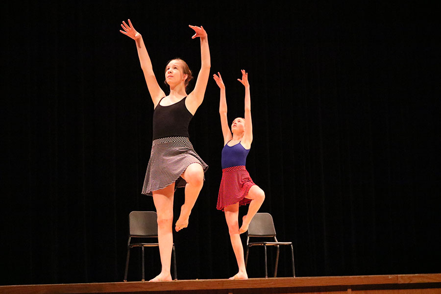 Fine Arts wraps up the year with their final showcase