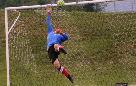 Boys soccer goalies take the field