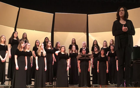 Pre assessment choir concert