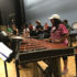 "Muñoz enjoys this year's marching band theme ""Time Warp"""