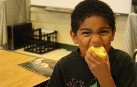Spotswood Elementary celebrates crunch day