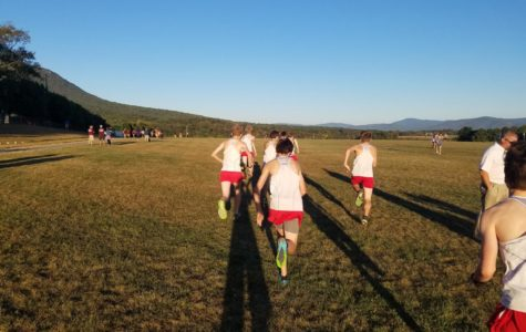 Cross country competes in the Burtner Classic