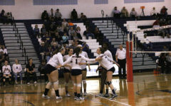 Varsity volleyball falls to Spotswood in five sets