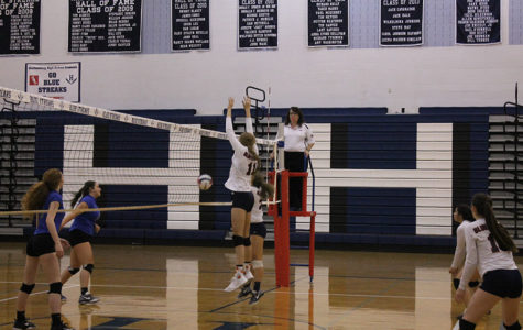 JV volleyball falls to Spotswood