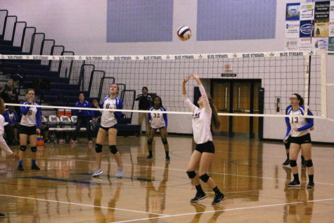 JV volleyball falls to Spotswood after tight first set