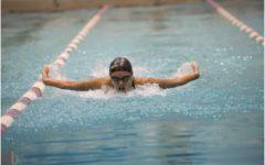 Gabriele finds schedule filled from swim