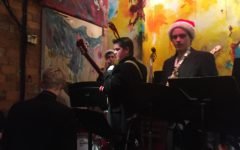 HHS Jazz Band plays at Clementine Cafe venue