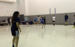 Girls' soccer conditioning begins to prepare athletes for spring