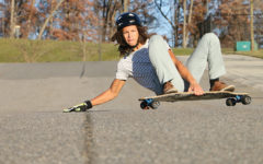 Fleming continues longboarding through severe accidents