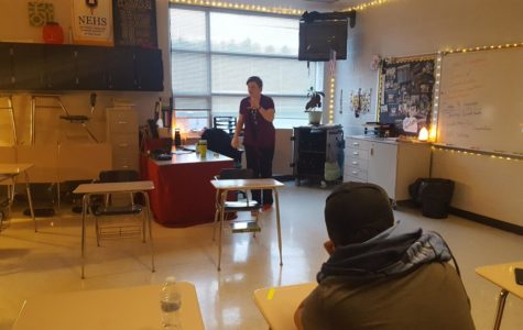 English teacher Delozier to lead new class next year
