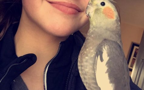 Malashiy shares deep relationship with her bird