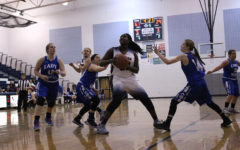 Girls varsity basketball defeats Rockbridge Wildcats