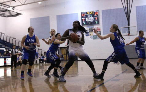 Girls varsity basketball defeats Rockbridge Wildcats