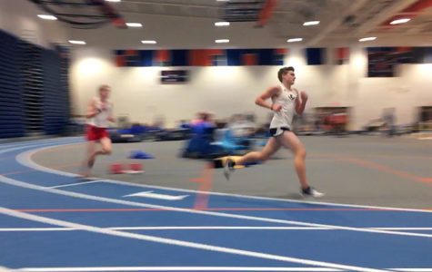 Indoor track team competes in Valley District Championship