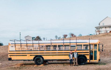 Waldrop creates home in old school bus