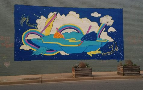 Shenandoah Valley Art Mobile holds local mural painting