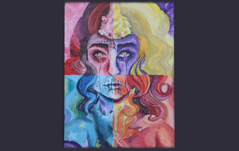D'Elia finds self identity through art