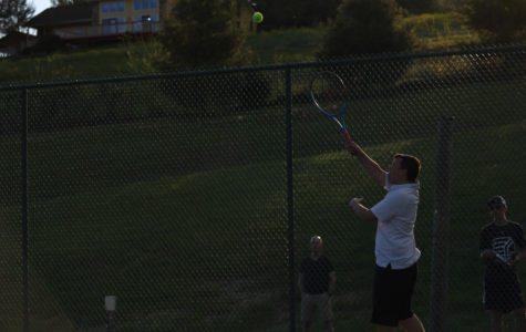 Senior Michael Sy plans to return as assistant coach for HHS tennis team